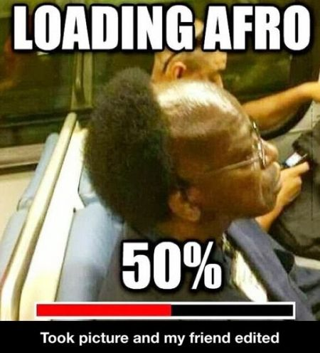 loading afro demotivational