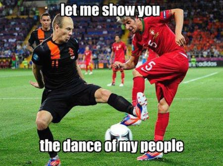 the dance of my people football