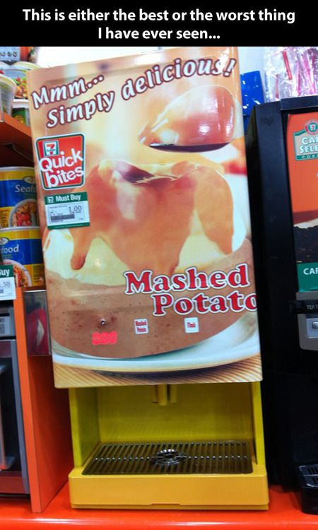 mashed potato machine
