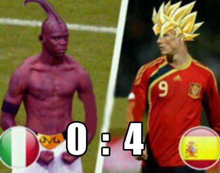 Funny  football/soccer meme – Balotelli dragon ball