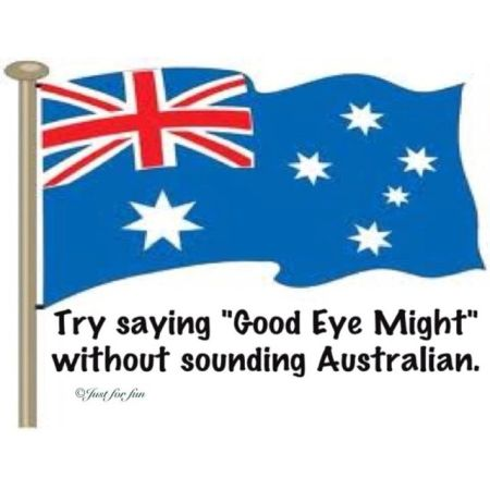 Good eye might Aussie humor - Tuesday giggles at PMSLweb.com