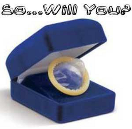 Will you? Condom funny - Sarcastic pictures at PMSLweb.com