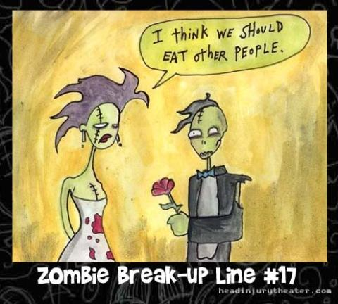 Zombie break up line at PMSLweb.com