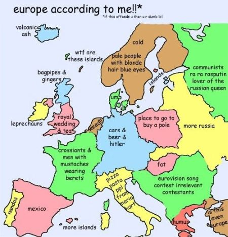 Europe according to me - Thursday funnies at PMSLweb.com