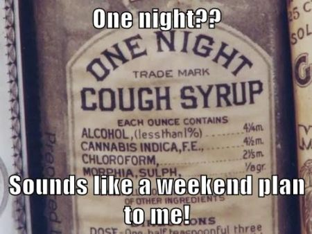 One night cough syrup vintage at PMSLweb.com