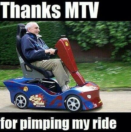 Thanks MTV for pimping my ride at PMSLweb.com