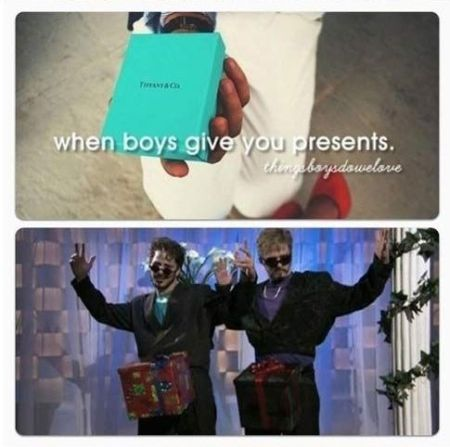 When boys give you presents at PMSLweb.com