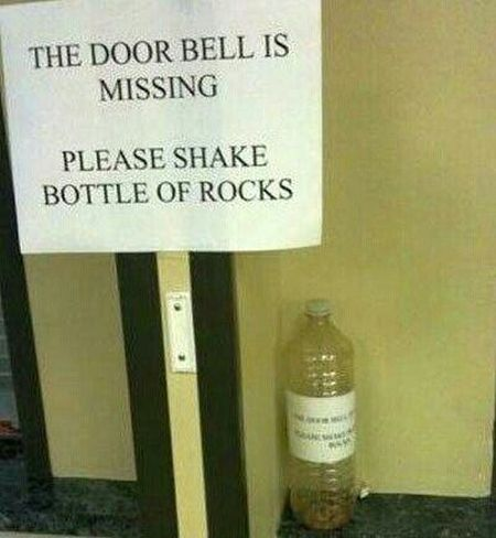Please shake bottle of rocks – Funny Sunday pics at PMSLweb.com