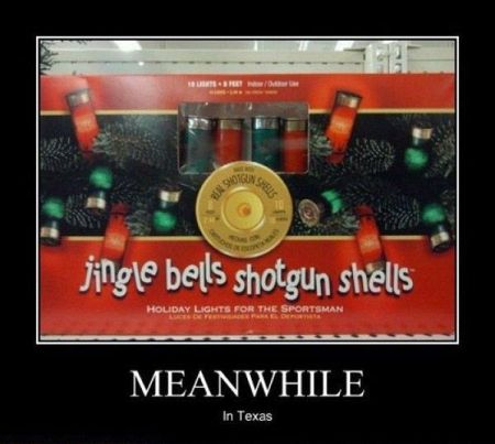 Jingle bells in Texas - Christmas funnies at PMSLweb.com