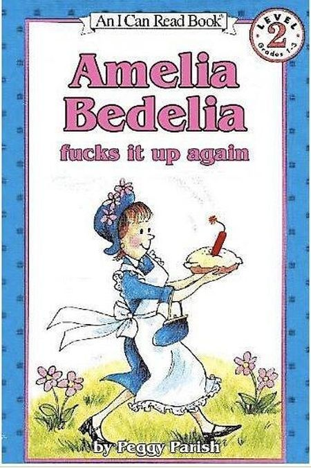 Amelia Bedelia f*cks it up again at PMSLweb.com