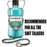 Haterine – recommended for all sh*t talkers at PMSLweb.com