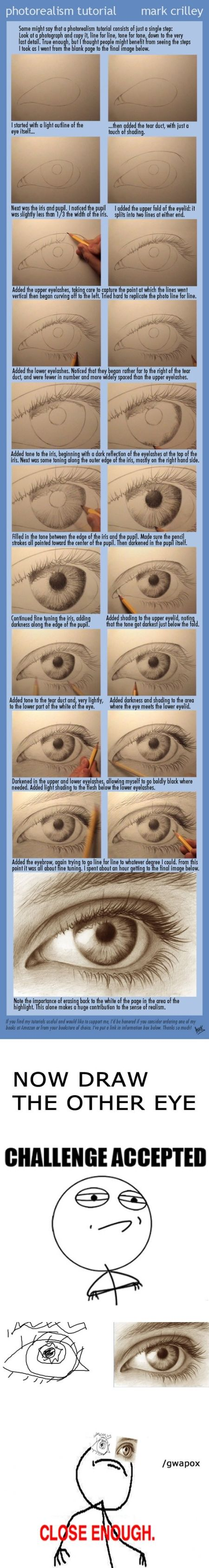 How to draw an eye at PMSLweb.com