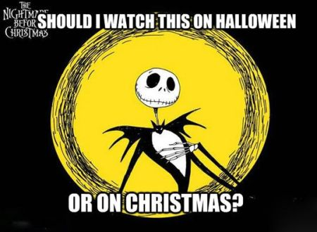 should I watch this on Halloween or on Christmas