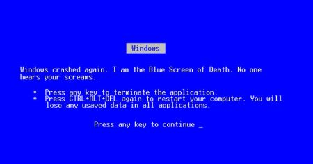 Blue screen of death funny – Friday laughter at PMSLweb.com