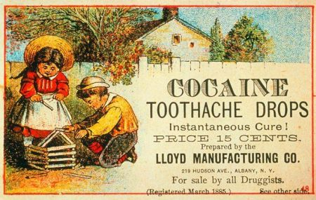 Cocaine toothache drops - Thursday funnies at PMSLweb.com