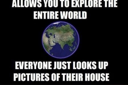 Google earth humor - Funny picture at PMSLweb.com