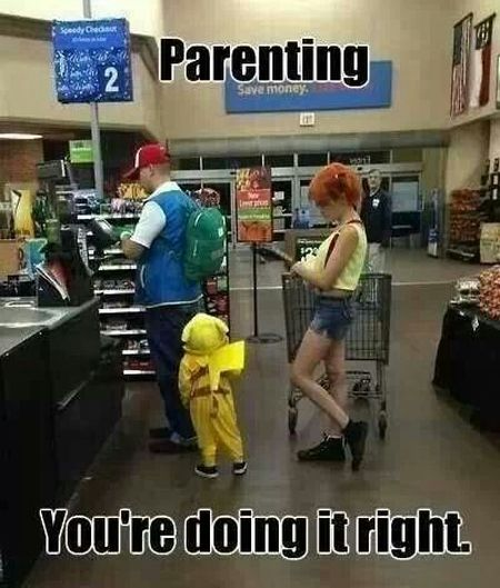 Parenting you're doing it right – Thursday humor at PMSLweb.com