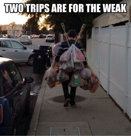 Two trips are for the weak – Humoristic Monday at PMSLweb.com