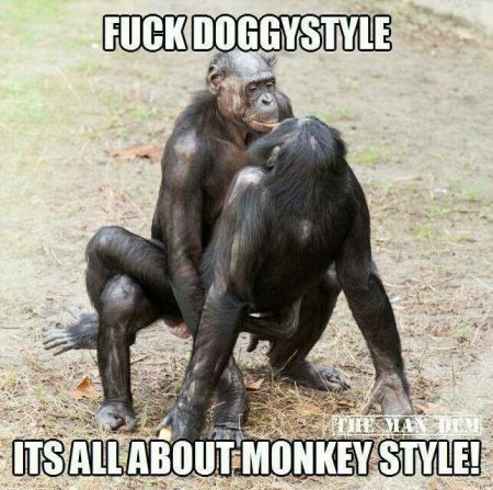 Monkey style meme – Me gusta funnies at PMSLweb.com