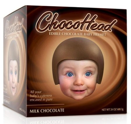 Baby chocohead - Monday fun at PMSLweb.com