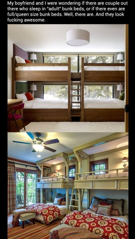 Adult bunk beds at PMSLweb.com