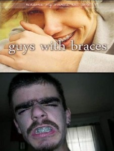 Guys with braces - Funny picture at PMSLweb.com