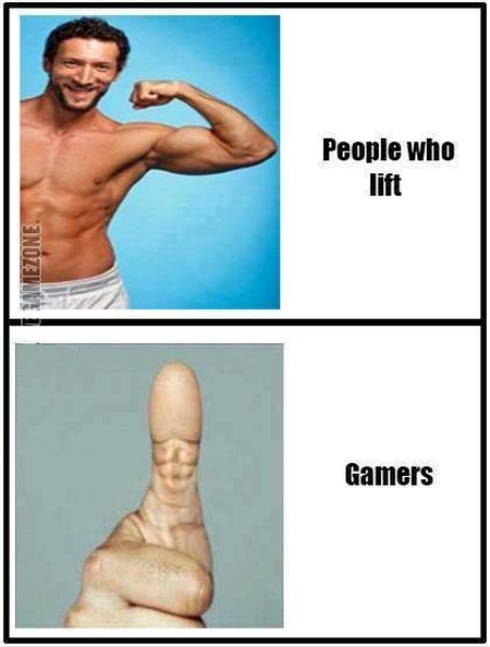 Gamers 6-pack thumb –Funny Sunday pics at PMSLweb.com