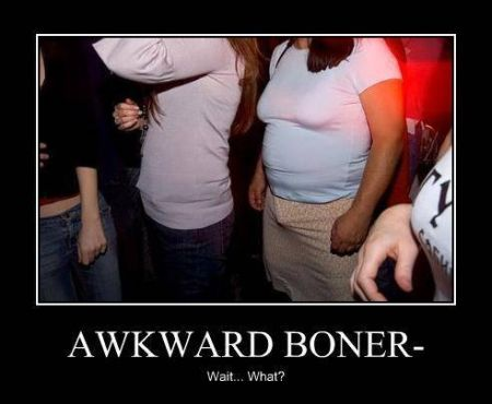 Awkward boner - Friday funnies at PMSLweb.com