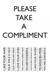 Please take a compliment funny - TGIF humor at PMSLweb.com