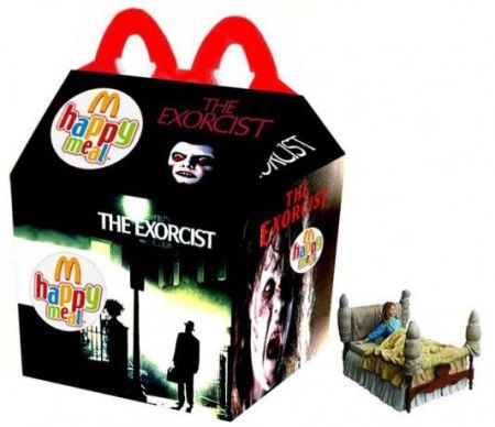 The exorcist happy meal at PMSLweb.com