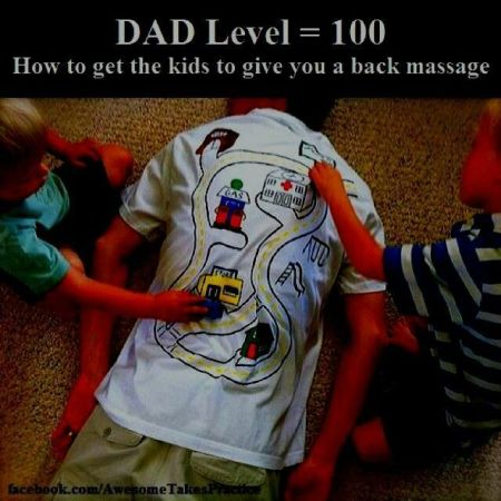 Dad level 100 at PMSLweb.com