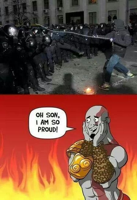 God of war funny – Thursday humor at PMSLweb.com