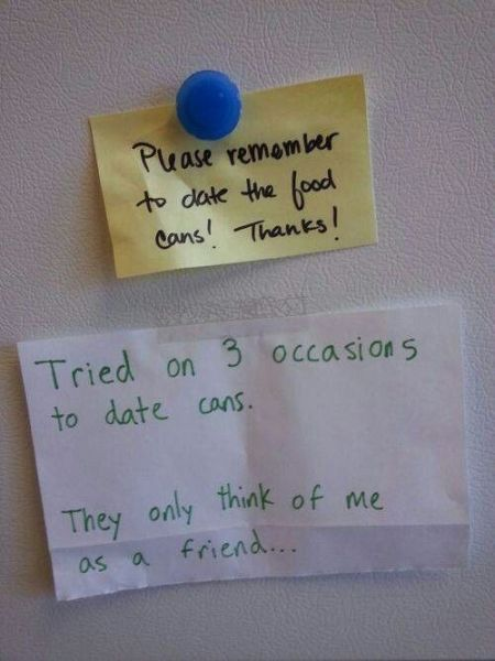 Dating the cans funny at PMSLweb.com