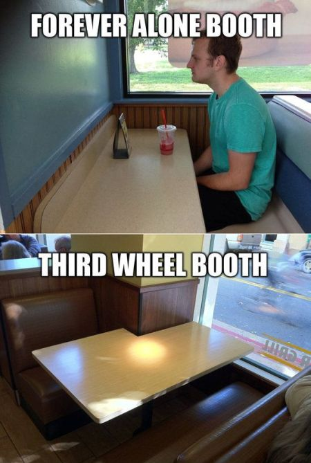 Forever alone and third wheel booths at PMSLweb.com