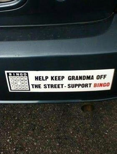 Help grandma off the street at PMSLweb.com
