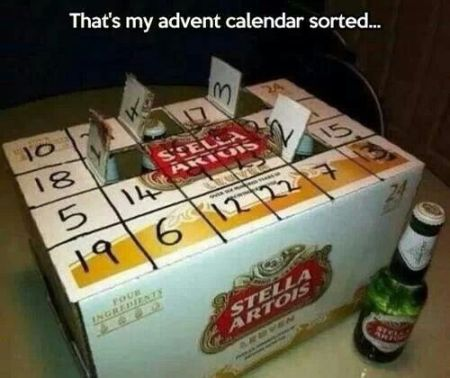 Beer advent calendar - Tuesday giggles at PMSLweb.com