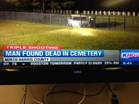 Man found dead in cemetery at PMSLweb.com