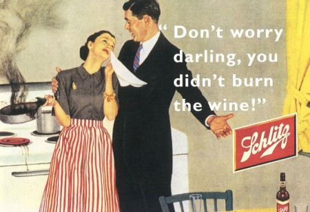 You didn't burn the wine vintage advert - Thursday funnies at PMSLweb.com
