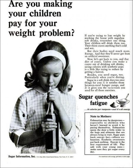 Children and soda vintage advert - Thursday funnies at PMSLweb.com