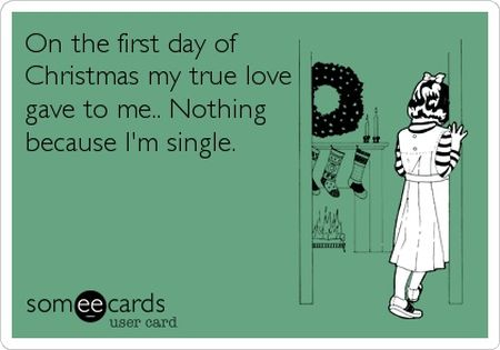 On the first day of Christmas ecard - Christmas funnies at PMSLweb.com