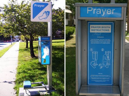 prayer booth