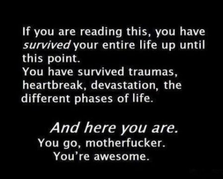 You're awesome funny quote - Sarcastic pictures at PMSLweb.com