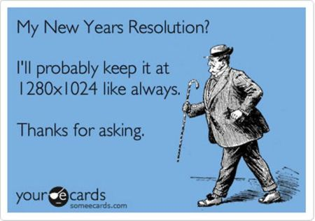 My new year's resolution ecard at PMSLweb.com