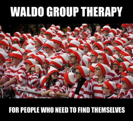 Waldo group therapy - Hump Day fun at PMSLweb.com