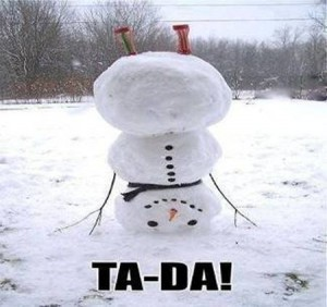 Snowman meme - Christmas funnies at PMSLweb.com
