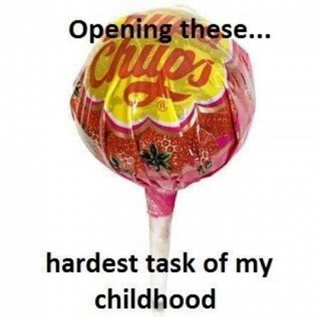 opening these hardest task of childhood chups