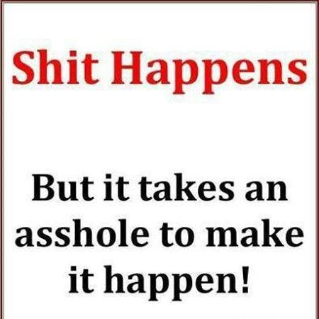 Sh*t happens quote – Funny Sunday pics at PMSLweb.com
