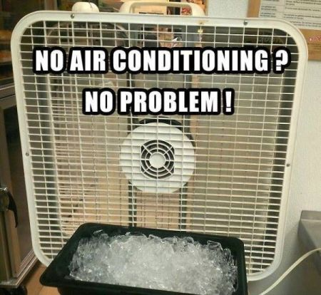no air con no problem funny
