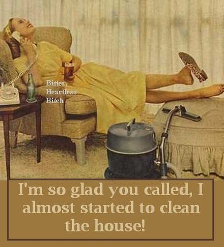 I almost started to clean the house - Tuesday giggles at PMSLweb.com