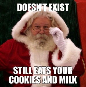 Doesn't exist Santa meme - Christmas funnies at PMSLweb.com